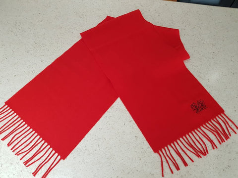 Dragon Scarf Red