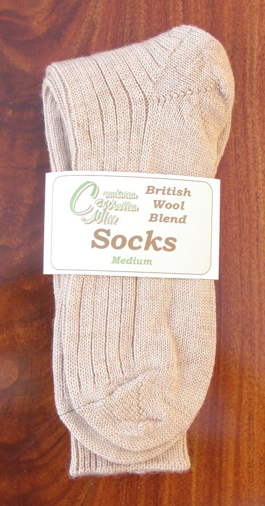 Wool Socks Natural