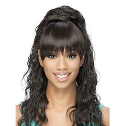Vivica Fox Synthetic Bang N Pony Loose Layered Straight BP-Kennedi 20""