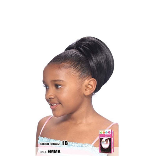 Model Model GLANCE Kids Drawstring Synthetic Ponytail EMMA