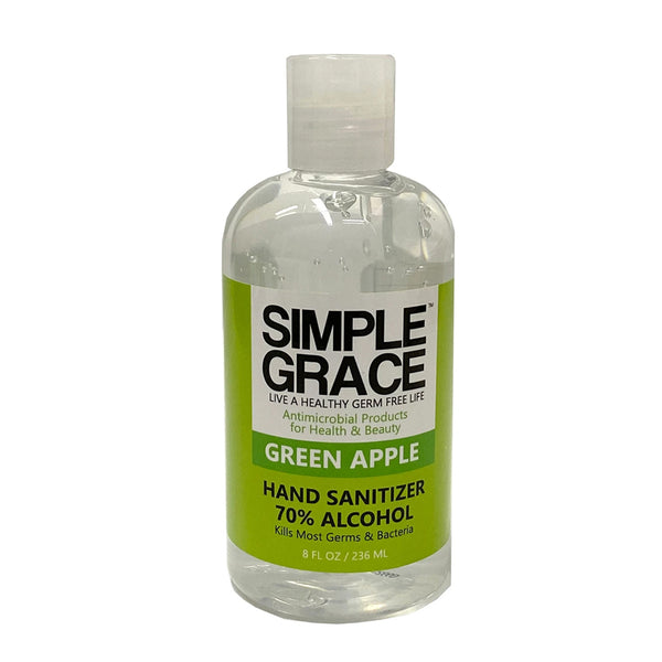 Simple Grace Antimicrobial Hand Sanitizer Green Apple