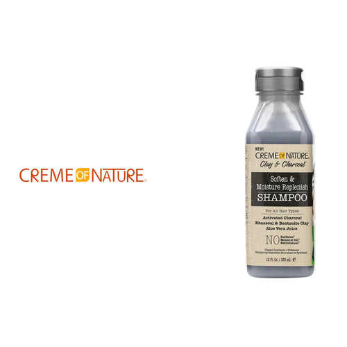 Creme of Nature Clay & Charcoal Moisture Replenish Shampoo