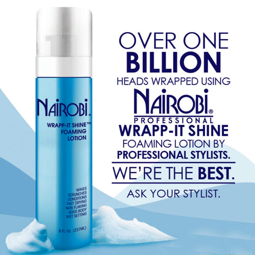 Nairobi Wrap-It Shine Foam Lotion