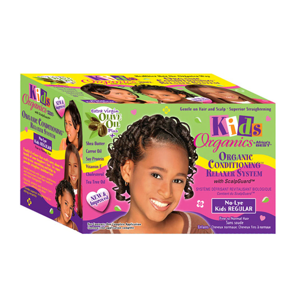 Africa's Best Kids Originals No Lye Relaxer Kit Regular