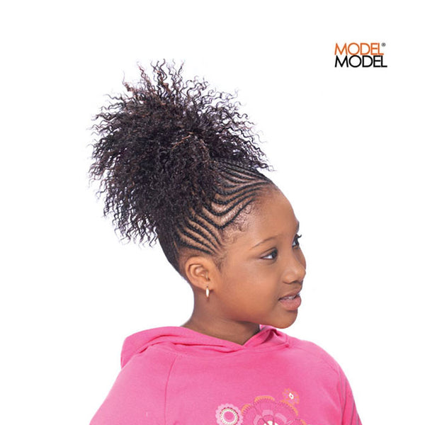 Model Model GLANCE Kids Drawstring Synthetic Ponytail Chloe
