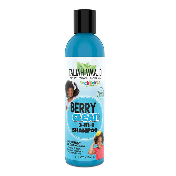 Taliah Waajid Black Earth 3-n-1 Berry Cleanse Shampoo 8oz