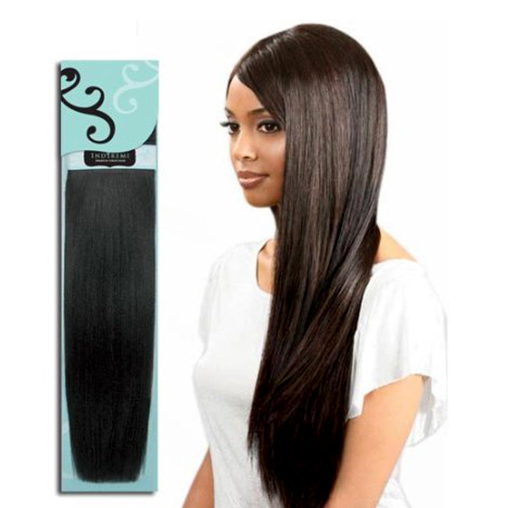 Bobbi Boss INDI REMI 100% Virgin Remi Human Hair Weave Natural Yaky 10