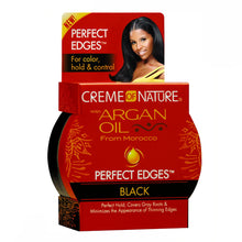 Creme of Nature Argan Oil Perfect Edges Black