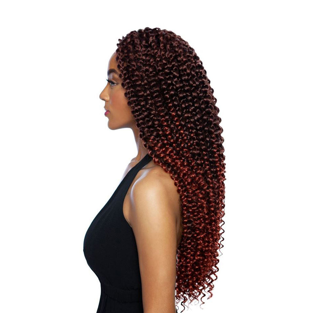 AFRI Naptural Caribbean Synthetic Hair Braid Water Wave 18
