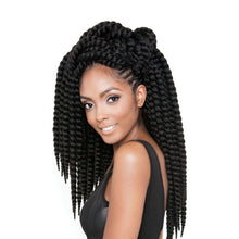 Afri Naptural Synthetic Hair Braid 2X Senegal Bantu Twist 12""