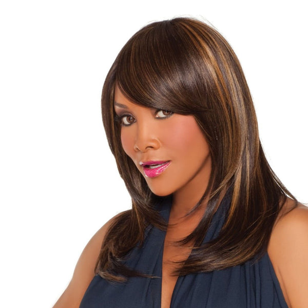 Vivica Fox Synthetic Weave Cap Wig WP-Lindsay-V