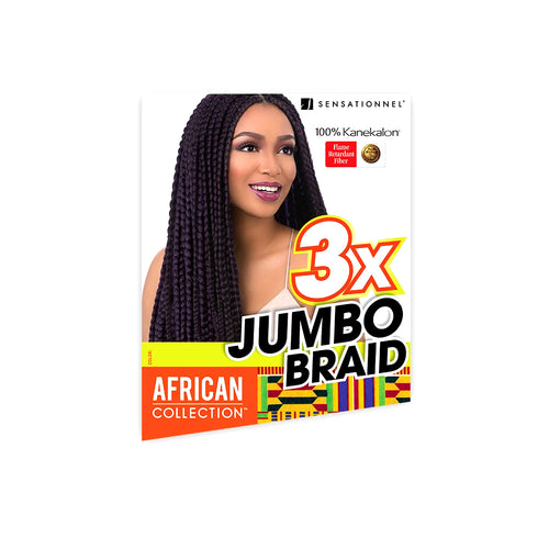 Sensationnel African Collection Synthetic 3X Jumbo Braid