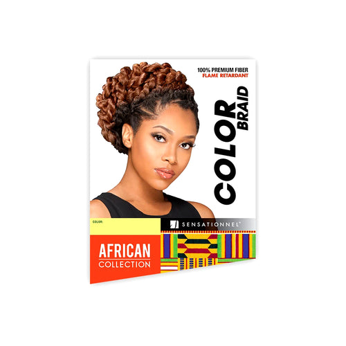 Sensationnel African Collection Synthetic Hair 100% KANEKALON FIBER Jumbo Ombre Braid