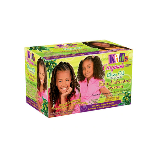 Africa's Best Kids Originals Olive Oil Softening System Kit