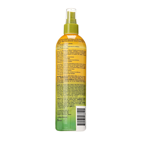African Pride Olive Miracle Braid Sheen Spray Extra Shine