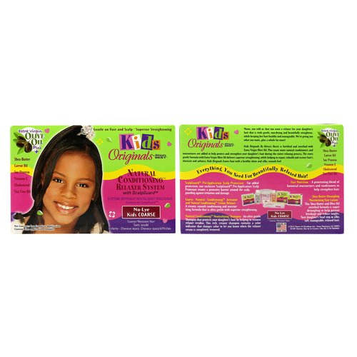 Africa's Best Kids Originals No Lye Relaxer Kit Coarse