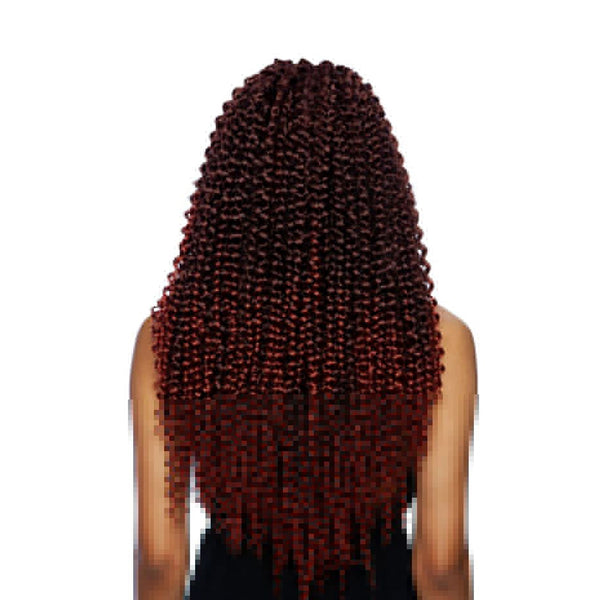 "AFRI Naptural Caribbean Synthetic Hair Braid Water Wave 18"" CB1806"