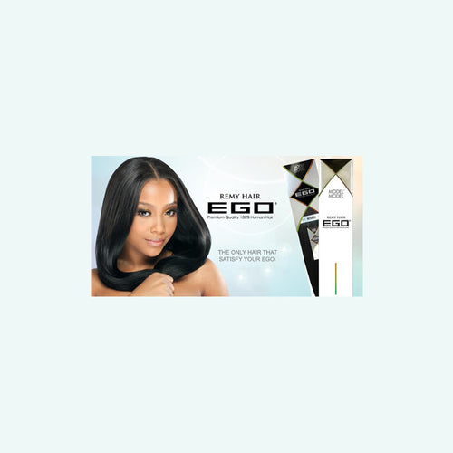 Model Model EGO II 100% Human Hair Virgin Remy Yaki Weave 16""
