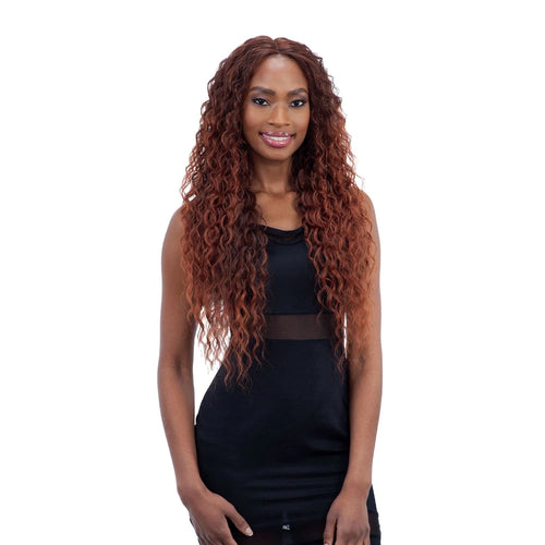 "Mayde Beauty Synthetic Invisible 6"" Lace Part Wig Kamea"