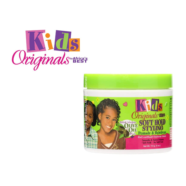Africa's Best Kids Originals Soft Hold Styling Hairdress 4oz