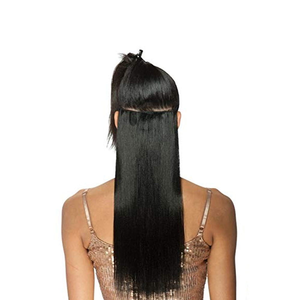 Synthetic Clip-in Hair Extensions