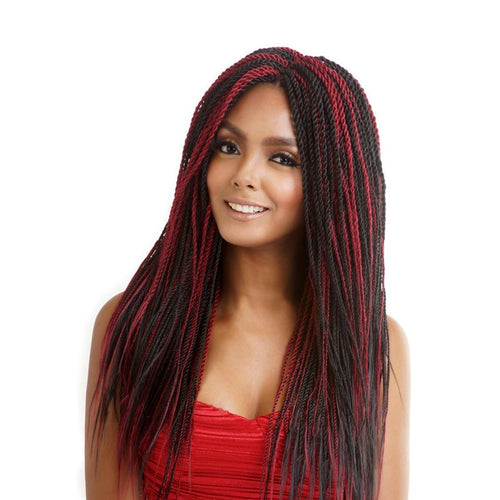 Mane Concept AFRI Naptural Synthetic Hair Braid Pre-Stretched Definition Z 54""