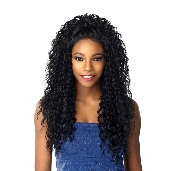 "Sensationnel Shear Muse DIY Weaving System 3-Way Moon Part Curly 16""18""20"""