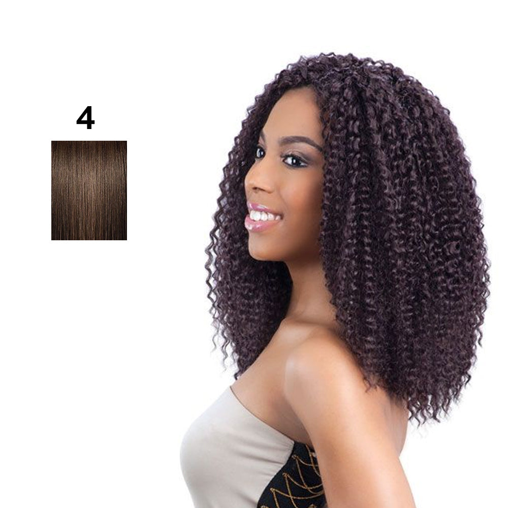 Model Model Glance Synthetic Braid Brazilian Curl 12