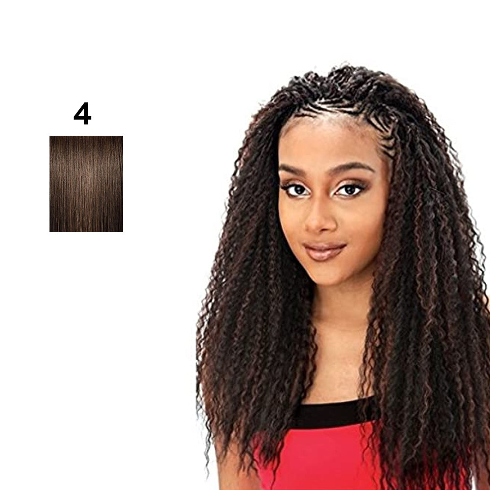Model Model Glance Synthetic Braid Brazilian Curl 20