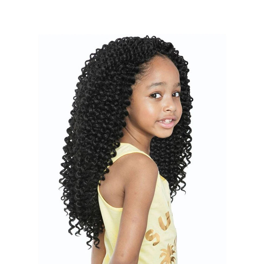 AFRI Naptural Synthetic Kids Rock Crochet Braid Water Wave KC02