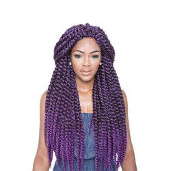 Afri Naptural Synthetic Hair Braid 2X Senegal Bantu Twist 24""