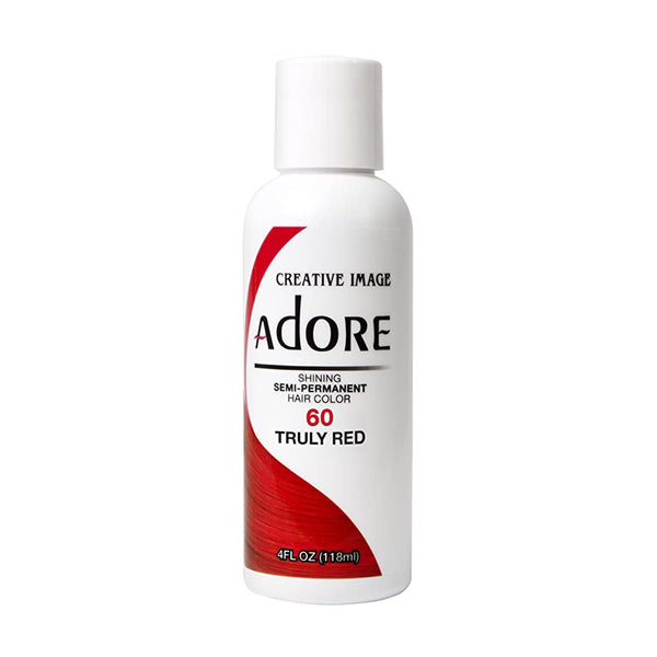Adore Semi-Permanent Hair Color 60- Truly Red