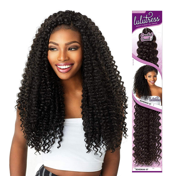 Sensationnel Lulutress Synthetic Braid Bohemian Curl 18""