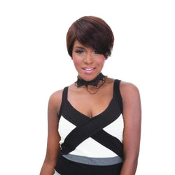 Janet Collection 100% Virgin Human Hair Pixie Cut w/ Closure 38pcs