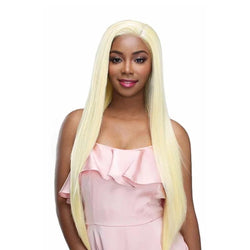 Human blend whole lace wig