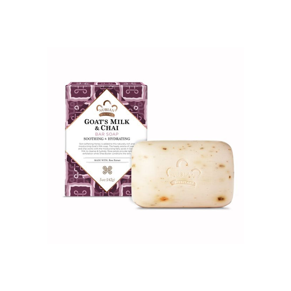 Nubian Heritage Goats Milk and Chai Bar Soap
