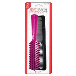 Donna Daily Brush & Styling Comb