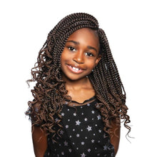 AFRI Naptural Synthetic Kids Box Braid Lovely Curl KBOX02