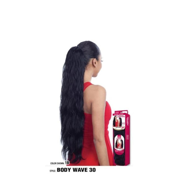 Model Model Equal Synthetic Drawstring Ponytail Body Wave 30""