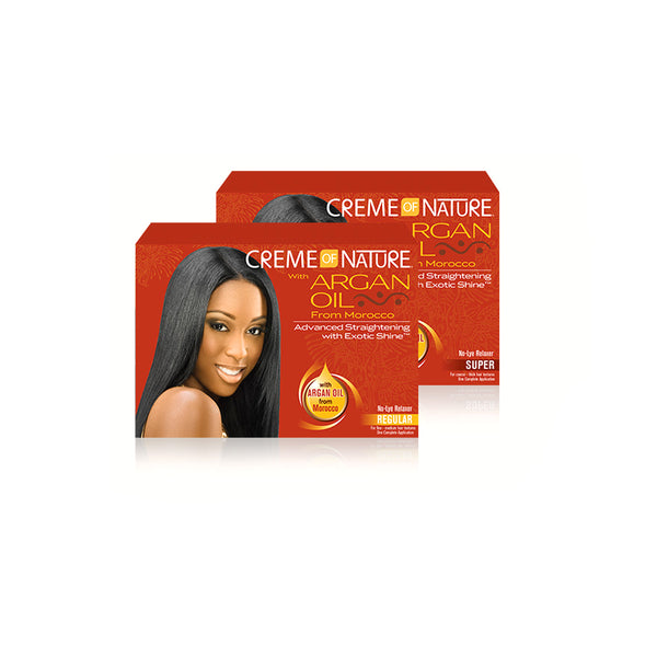 Crème of Nature w/Argan Oil No-Lye Relaxer Super