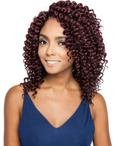 AFRI Naptural Caribbean Synthetic Hair Braid 3X Aruba Curl