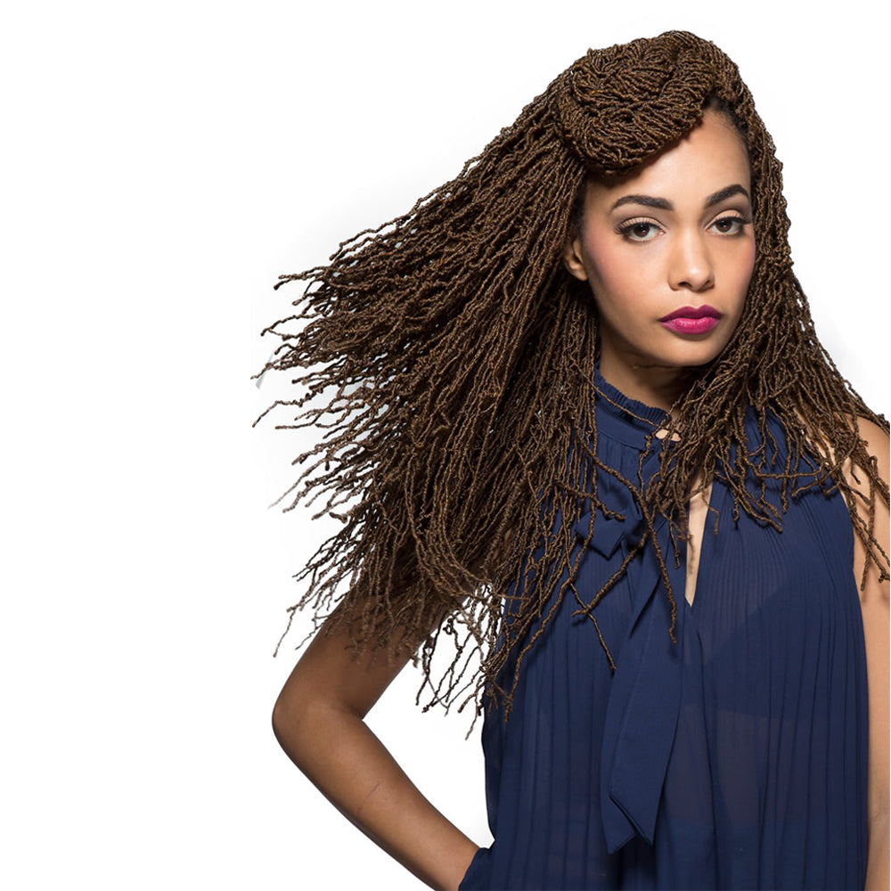 Bobbi Boss Synthetic Crochet Braid African Roots Micro Locs 18