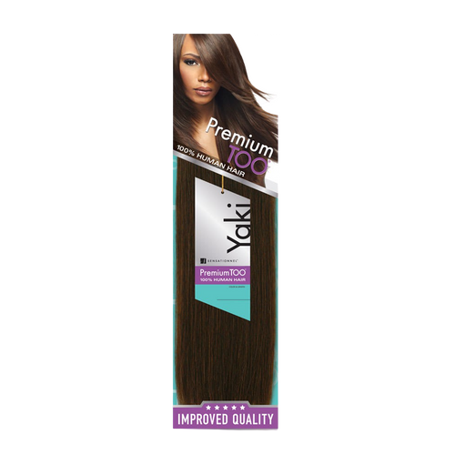 Sensationnel Premium Too 100% Human Hair Yaki Weave 10""