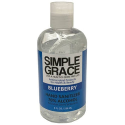 Simple Grace Antimicrobial Hand Sanitizer Blueberry