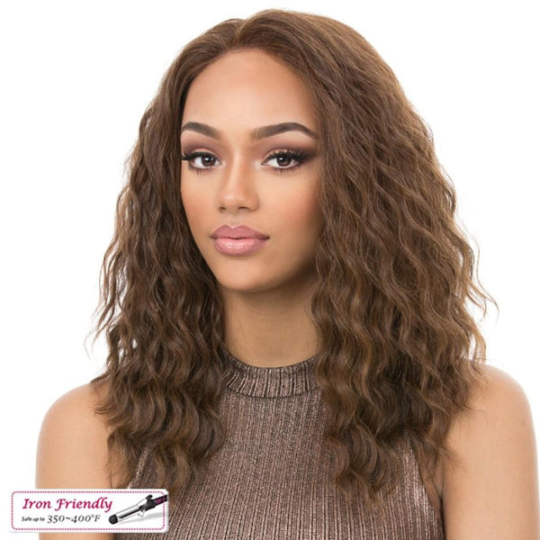 It's A Wig Synthetic Iron Friendly Full Lace Wig Sun