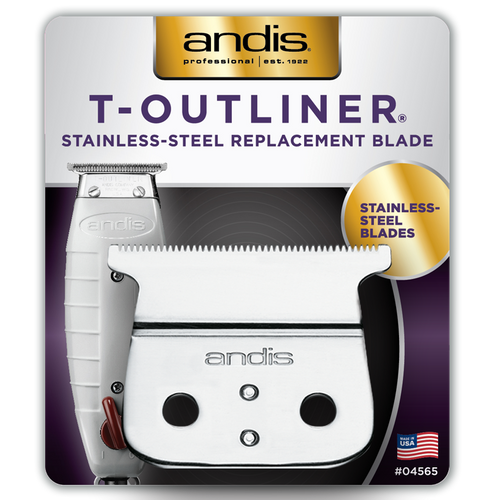 Andis T-Outliner Stainless Steel Replacement Blade
