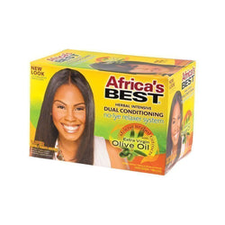 Africa;'s Best Olive Oil No Lye Relaxer System Super