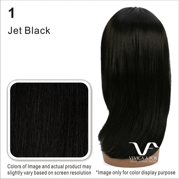 Vivica Fox Synthetic Invisible Swiss Lace Front Wig Jaret