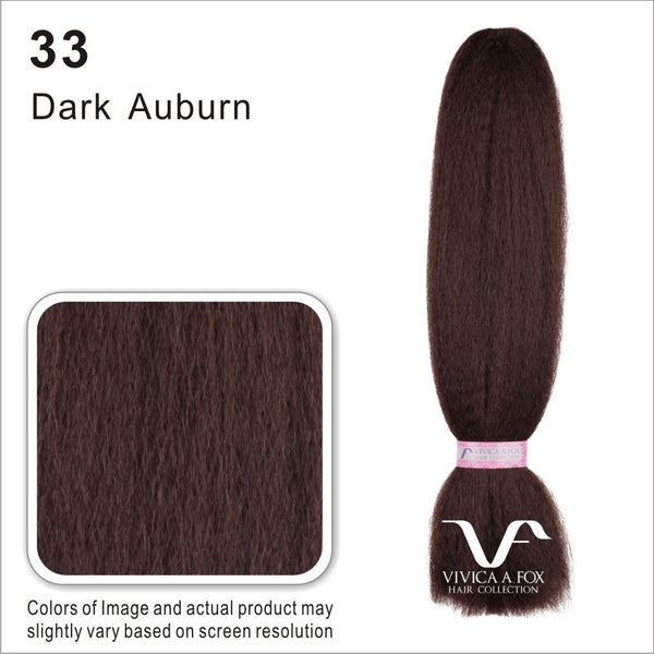 "Vivica Fox 100% Human Hair Braid Afro Kinky Bulk 16"" HKBK16-V"