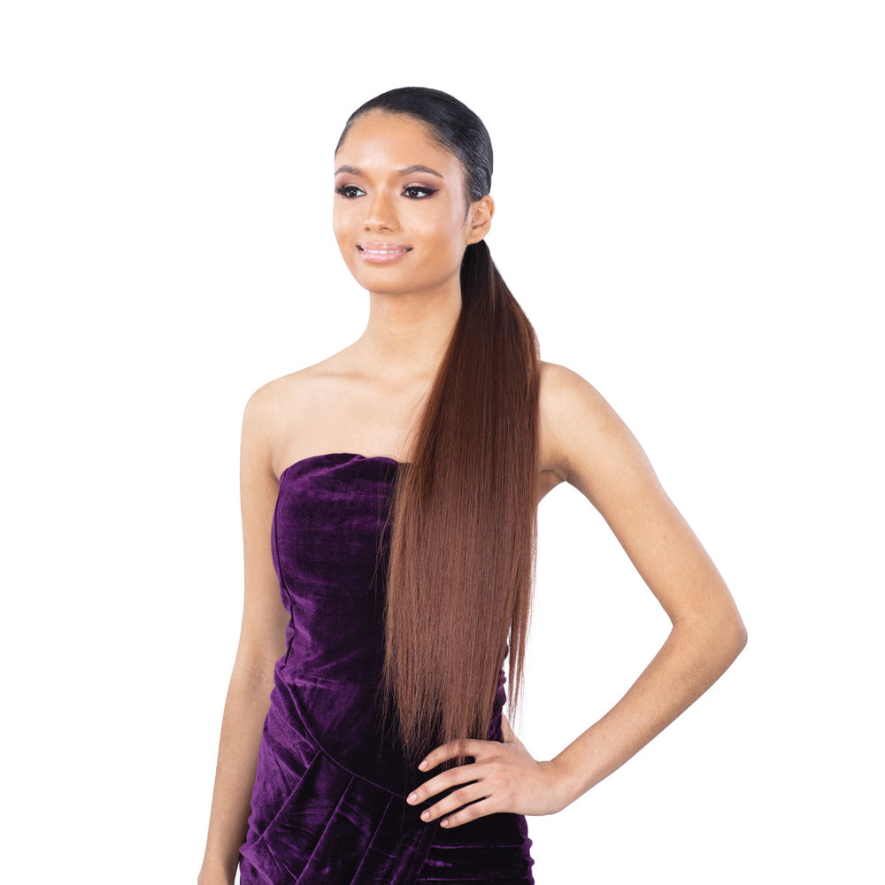 Mayde Synthetic Pony Pro Stretch & Lock Ponytail SLEEK PRO 24